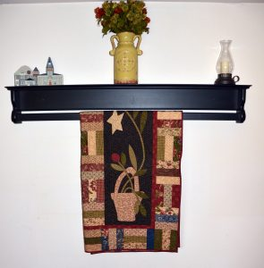Hanging Quilt Shelf for Sale