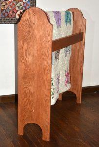 Wooden Quilt Stand