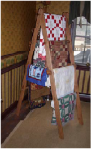 Quilters step ladder