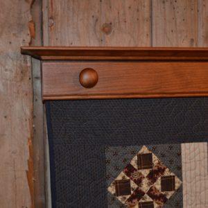 Knob Quilt Displays by DWR Custom Woodworking