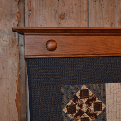 Knob Quilt Displays by DWR Custom Woodworking