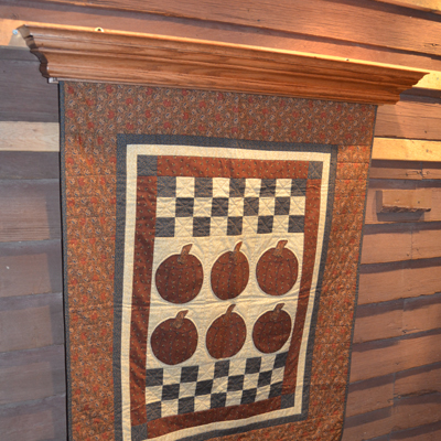 Ez Load Quilt Display crafted by DWR Custom Woodworking
