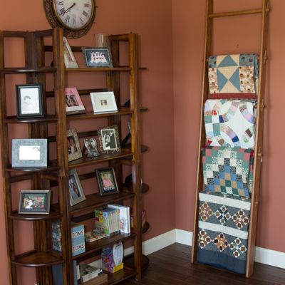 Quit ladder crafted by DWR Custom Woodworking
